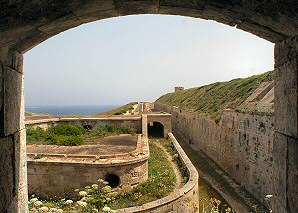 Fortress of Isabel II on the Mola of Maó