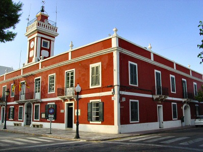 Es Castell Town Hall